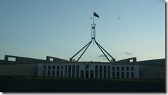 Canberra Parlimentary building