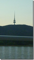 Canberra Tower - which we missed