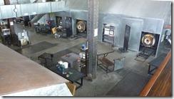 Canberra Glass Works studio floor