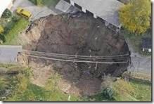 Germany sink hole
