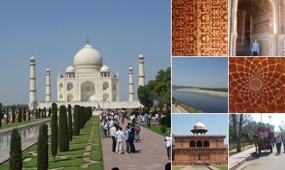 View Taj Mahal - after
