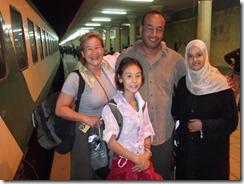 Luxor train station w Adam, Marowa