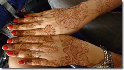 Megha's henna'd hands for brother's wedding 5 days ago (1)