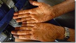 Megha's henna'd hands for brother's wedding 5 days ago (299)