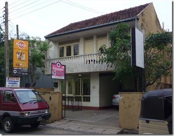 Hodi's new temporary housing