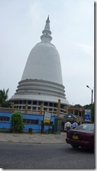 Buddhist stupa in Colombo