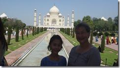 Taj Mahal Tour w Amy and Jeannie