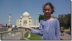 Taj Mahal Tour on a tray w Amy