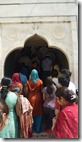 Taj Mahal Tour Stairs up to Taj Mahal main level