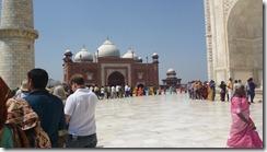Taj Mahal Tour Main Level - the line starts here