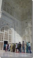 Taj Mahal Tour Entry into Mausoleum