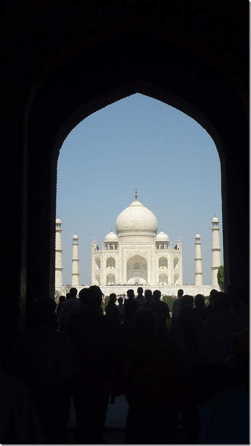 Taj Mahal Tour Framed by South Gate