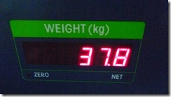 To New Delhi - luggage weight (4)
