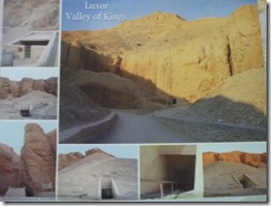 Valley of Kings Tomb entrances
