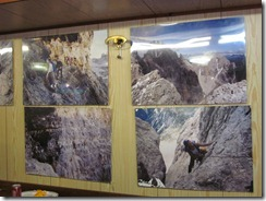 Osteria's rock climbing posters