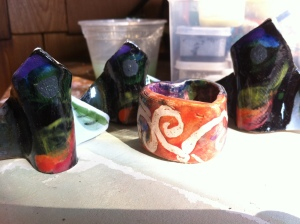 Ceramics - 1st Glaze fire (12)